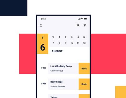 Gymifiq Gym Scheduling App