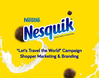Nestlé Nesquik Campaign Shopper Marketing & Branding