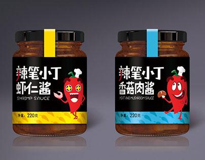 Chili sauce 辣笔小丁 蓝瘦香菇酱