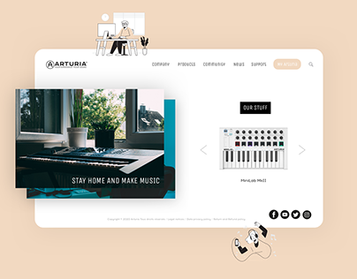 Homepage | Arturia
