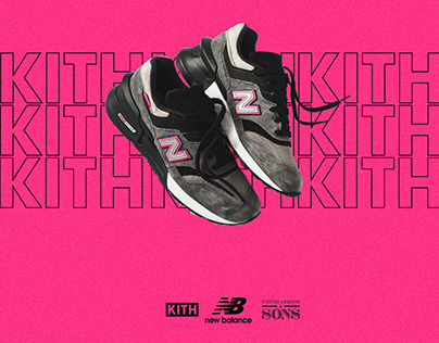 NEW BALANCE X KITH X UA & SONS