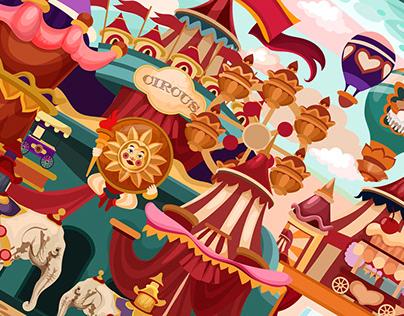 Circus Puzzle 2021
