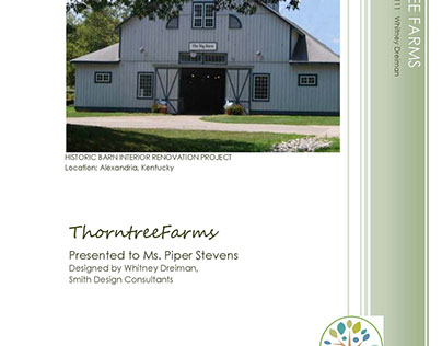 Space Planning: Thorntree Farms Renovation