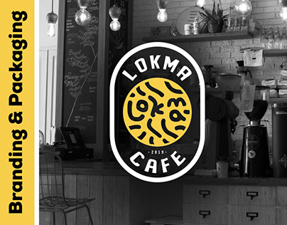Lokma Cafe   Branding and packaging