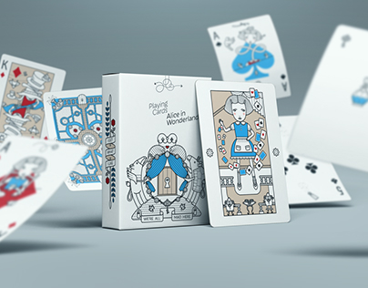 Alice in Wonderland Playing Cards Deck