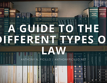 A Guide to the Different Types of Law
