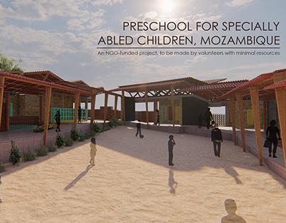Preschool for Specially Abled Children, Mozambique