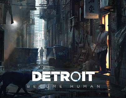 Concept Art - Detroit: Become Human
