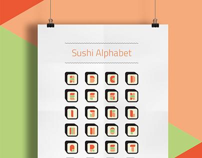 Sushi Alphabet