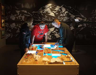 Wilderness Table - Anchorage Museum-Alaska - gsmproject