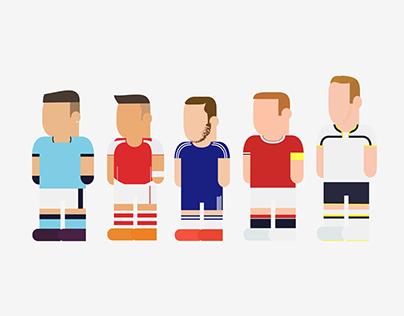 Premier League Illustration