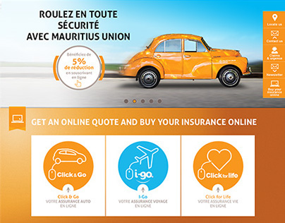 Mauritius Union Group website