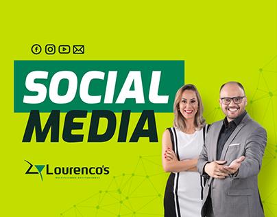Social Media - Lourenco's Treinamentos