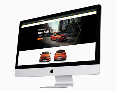 All-new Renault Clio landing page