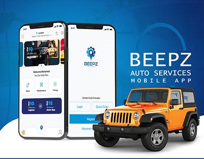 Car Wash Mobile app - Beepz auto