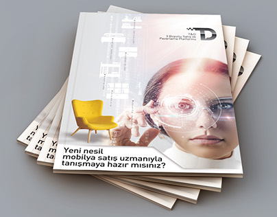 Tablet Dekor Logotype ve Brochur Design