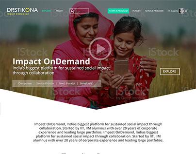 Drstikona Identity & UI Design