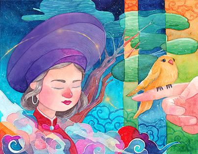 Watercolor artwork 2018-2020
