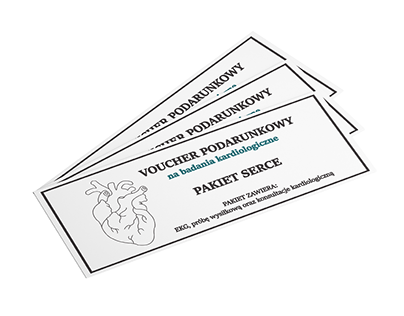 GIFT VOUCHER / GIFT CARD for a cardiologist