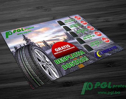 Flyer and Billboard Design Client: PGL Lukavac