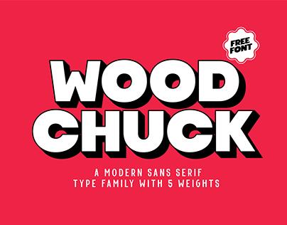 Woodchuck – FREE FONT