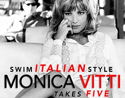 BLOG: Swim a la MODE: Monica VITTI Takes Five