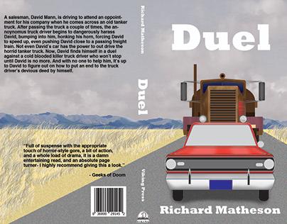"Book Cover Design: ""Duel"""