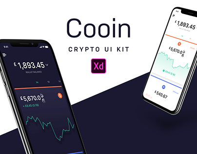 Cooin Crypto Kit FREE for Adobe XD