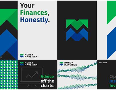 Money Maverick Branding Identity Design