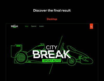 City Break Sport Auto   Web design & dev