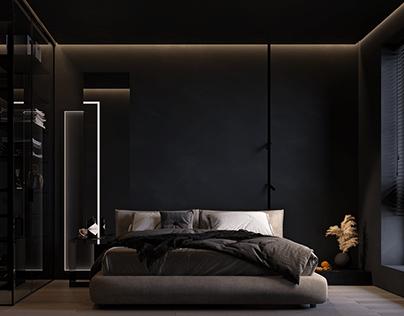 Bedroom interior design (in Kharkov, Ukrain)