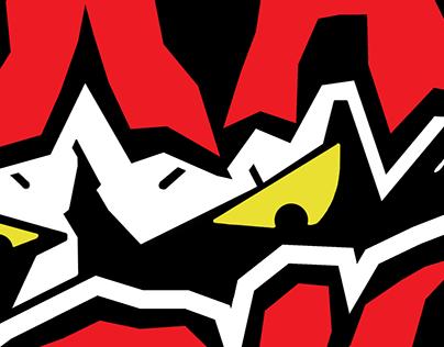 band logo (Strait Jacket (psychobilly, odessa, UA)