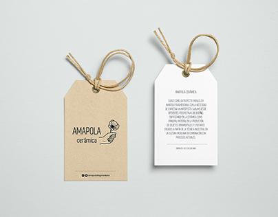 Branding Amapola Cerámica