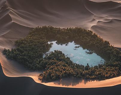 Lake Among the Dunes