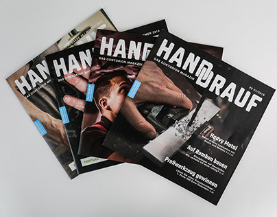Hand Drauf Magazine - Editorial Design