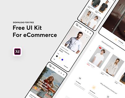 eCommerce – Free UI Kit