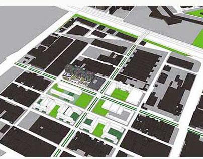 Centro Urbano en la Periferia