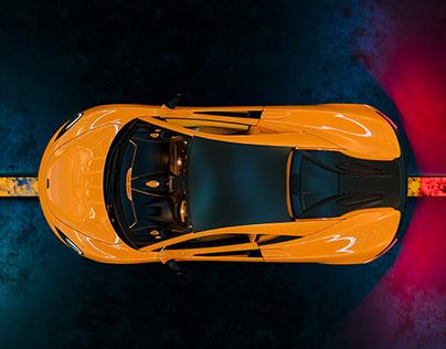 McLaren 570S - Full CGI