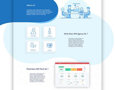 SEO Agency Website Design