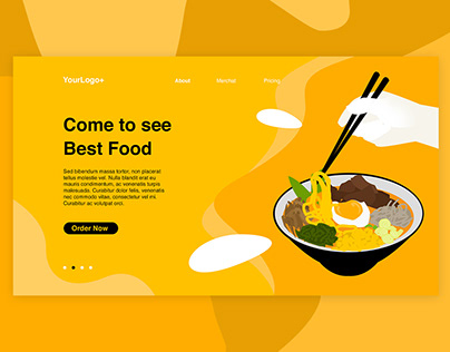 Food Culinary Ramen Web Header