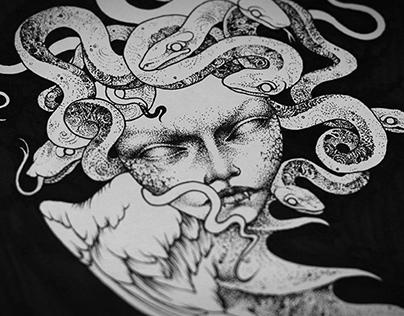 The Dark Creatures (t-shirts design)