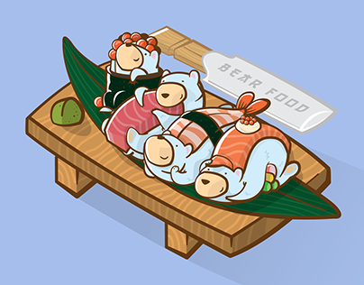 #BoredBears - Sushi set