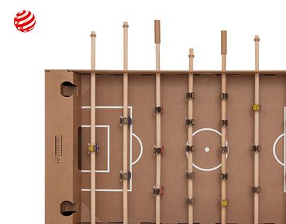 Kartoni - cardboard foosball table