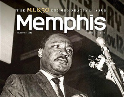 Memphis magazine, MLK50 issue, April 2018