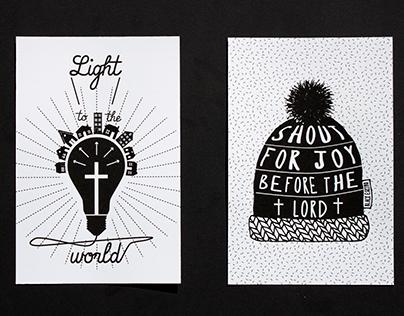 Black Eskimo Postcards