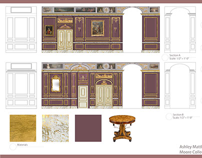 Historic Preservation: Barclay Foyer