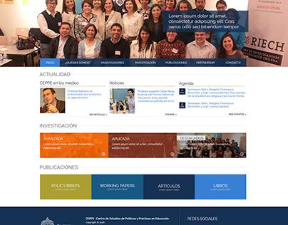 CEPPE Centro estudios de Políticas prácticas educación