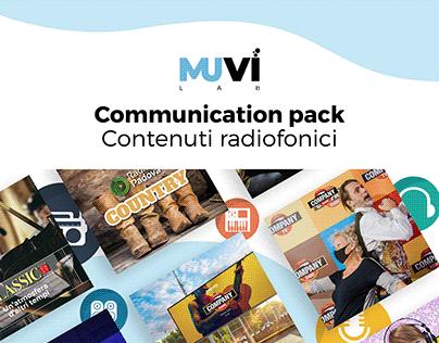 Communication pack Contenuti Radiofonici