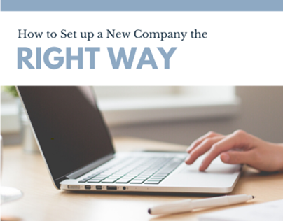 how to set up a company the right way