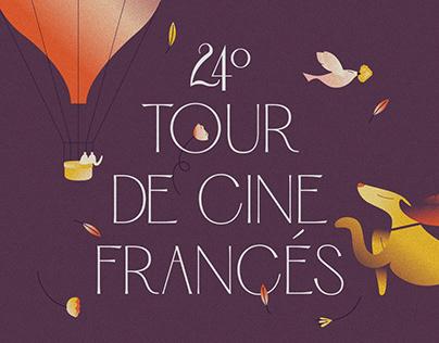24º Tour De Cine Francés